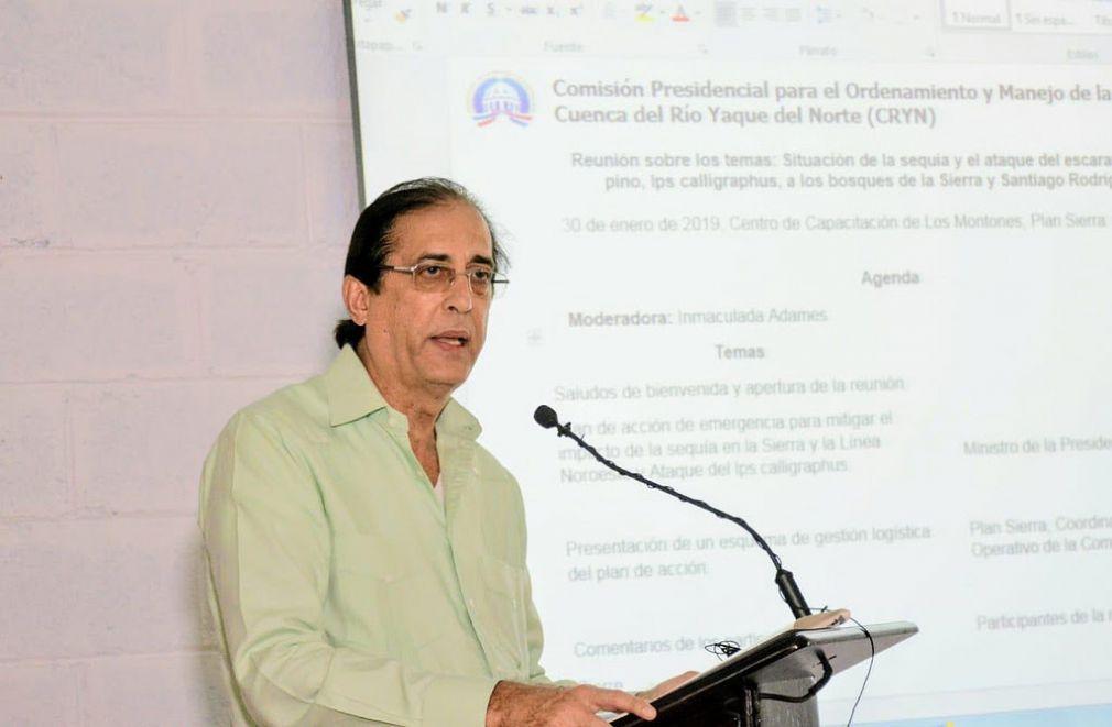Gobierno presenta plan de acción para combatir sequía y plaga de Escarabajo